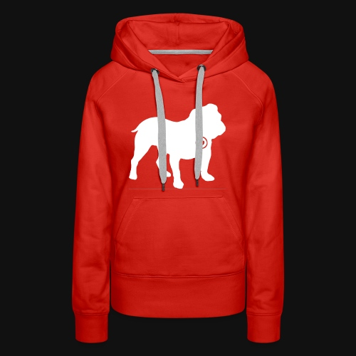 Bulldog love - Women's Premium Hoodie