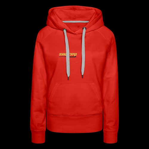 Schmeat Boys Logo - Women's Premium Hoodie