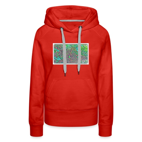 Heart in nature picture - Women's Premium Hoodie