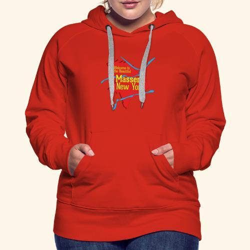 Massena NY Red - Women's Premium Hoodie