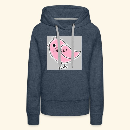 The Pink Bird - Women's Premium Hoodie