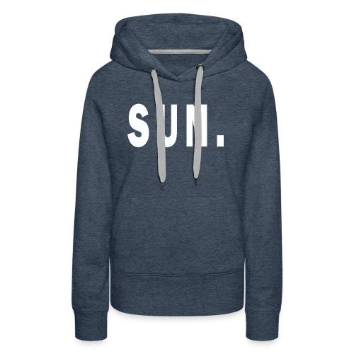 SUN - Women's Premium Hoodie