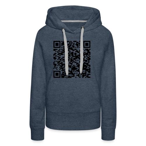 Broken Clan QR Code - Women's Premium Hoodie