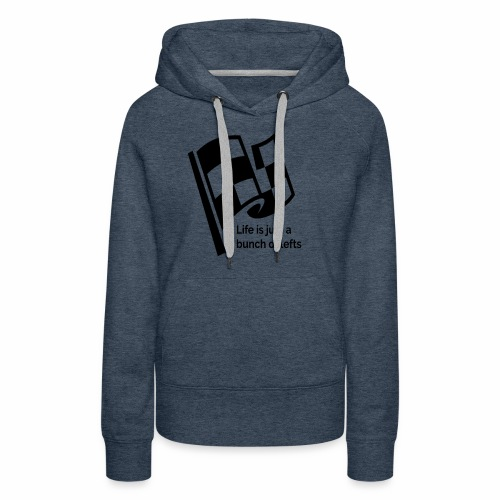 Life Is Just A Bunch Of Lefts Racing Design - Women's Premium Hoodie