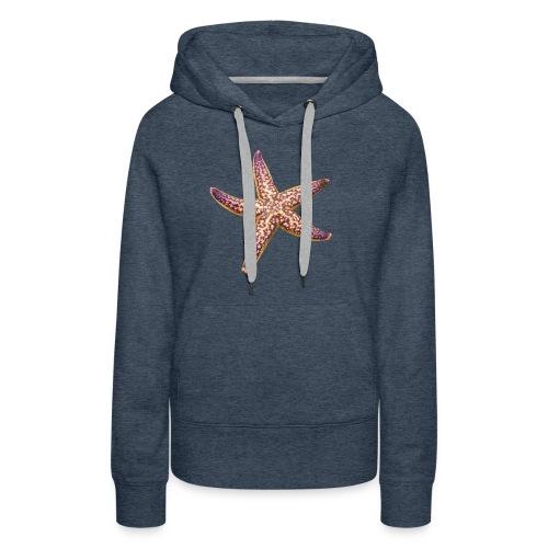 Pink 'n Purple starfish - Women's Premium Hoodie