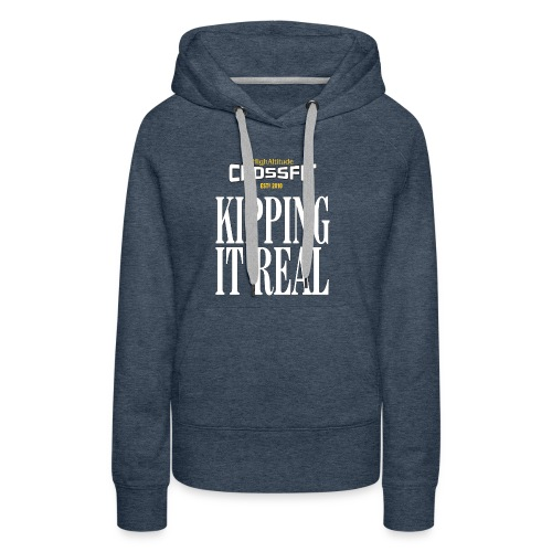 HACF KIPPING IT REAL - Women's Premium Hoodie