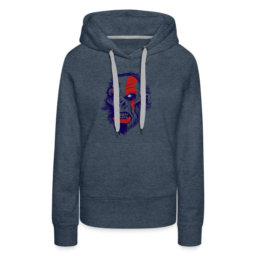 t shirt design 26 gorilla kratos by marekpl d - Women's Premium Hoodie
