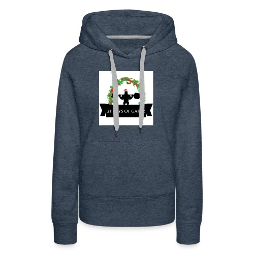 21 Days of Gains - Women's Premium Hoodie