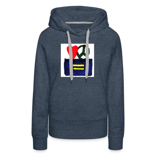Peace, Love and Equality - Women's Premium Hoodie
