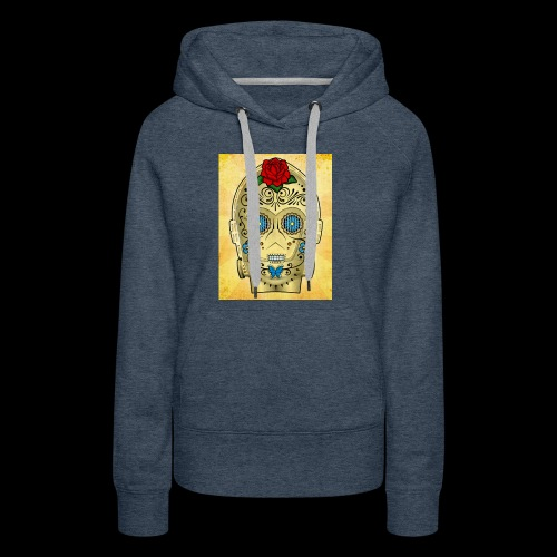 C3PO Day of the dead - Women's Premium Hoodie