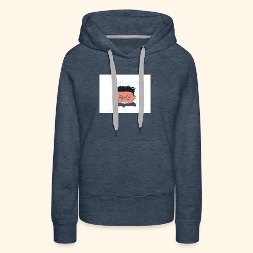 weiweigang logo edit - Women's Premium Hoodie