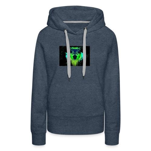 Neon Wolf - Women's Premium Hoodie