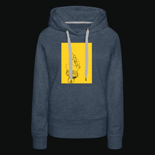 Untitled Artwork - Women's Premium Hoodie