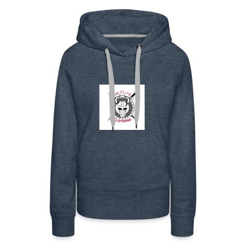 Skull sheild - Women's Premium Hoodie