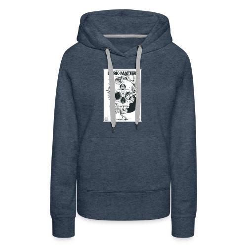 Flowery-Skull - Women's Premium Hoodie