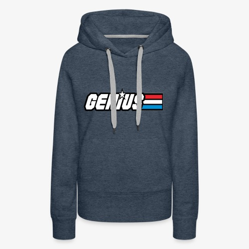 G.I. GENIUS - Women's Premium Hoodie