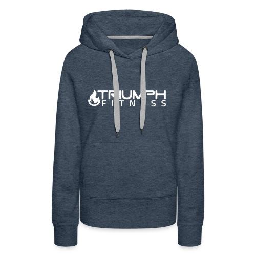 triumph 03 clear white - Women's Premium Hoodie