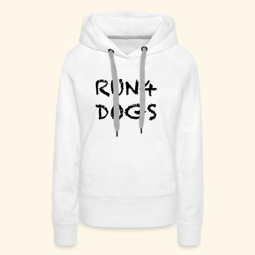 RUN4DOGS NAME - Women's Premium Hoodie