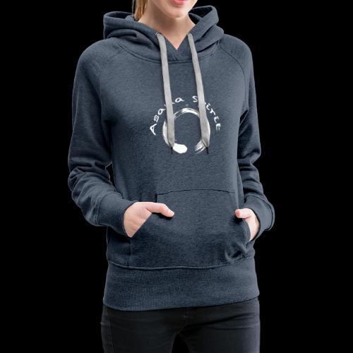Enso Ring - Asana Spirit - Women's Premium Hoodie