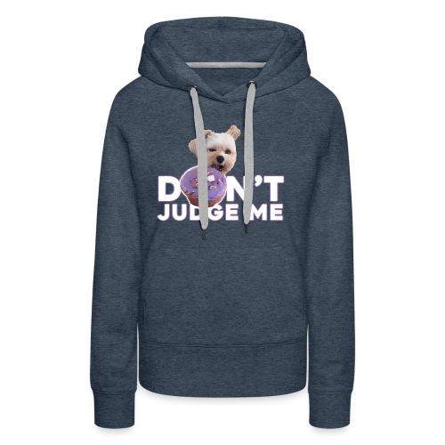Popeye Don't Judge - Women's Premium Hoodie