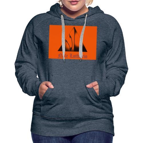 Orange Logo 2 - Women's Premium Hoodie