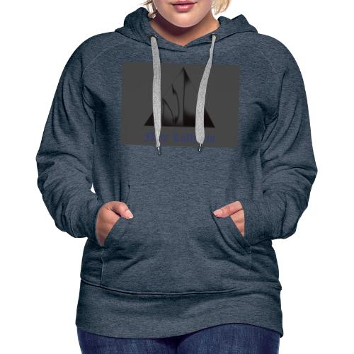 Grey Logo - Women's Premium Hoodie