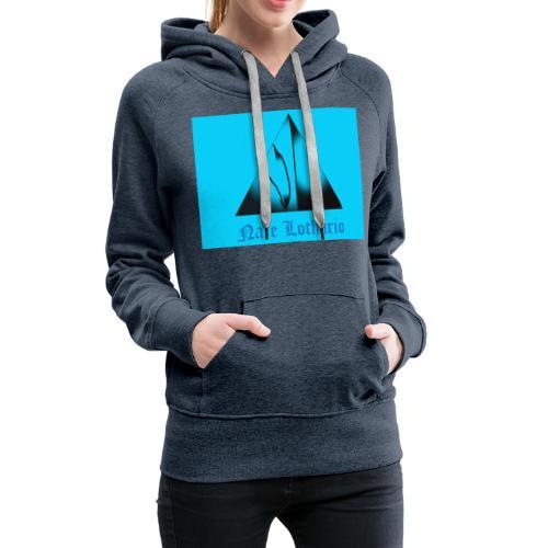 Aqua Blue Logo - Women's Premium Hoodie