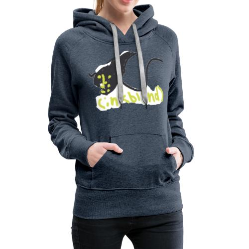 Kids funny monster ink - Women's Premium Hoodie