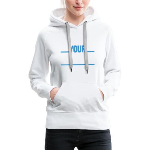 AYS Word Mashup - Women's Premium Hoodie