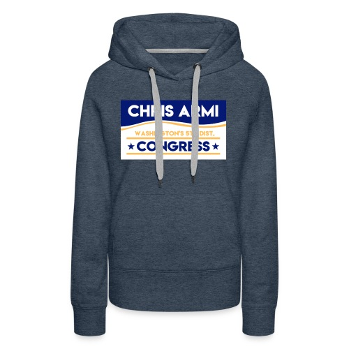 Chris Armi Sign - Women's Premium Hoodie