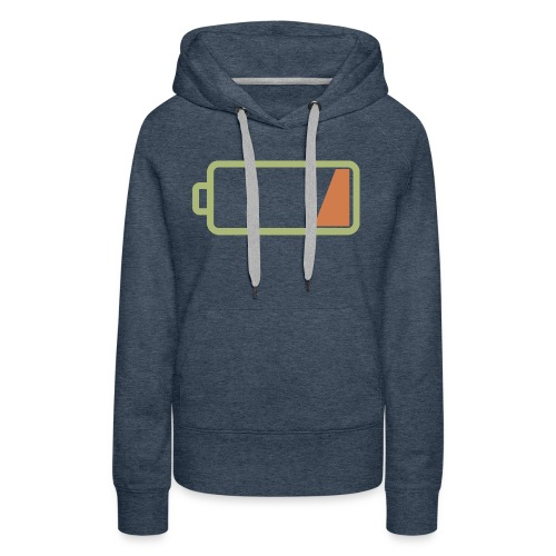 Silicon Valley - Low Battery - Women's Premium Hoodie