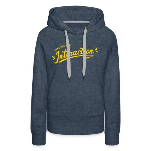 Designed for Interaction - Women's Premium Hoodie