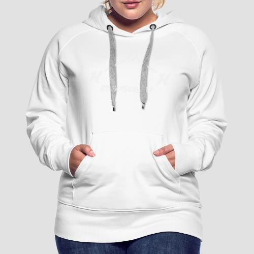 Stay Hydrated (White Text) - Women's Premium Hoodie