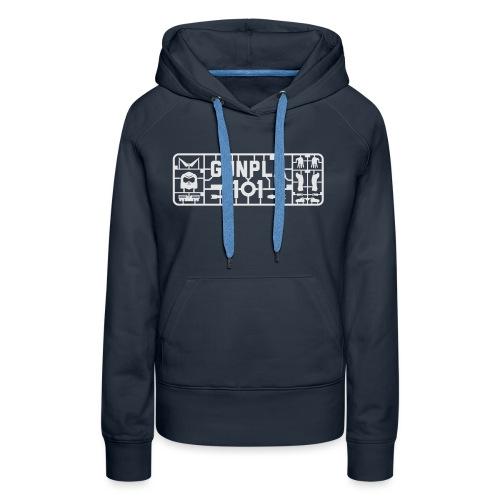Gunpla 101 Men's T-shirt — Zeta Blue - Women's Premium Hoodie