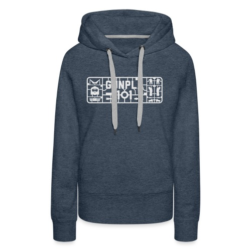 Gunpla 101 Men's T-shirt — Zeta Blue - Women's Premium Hoodie