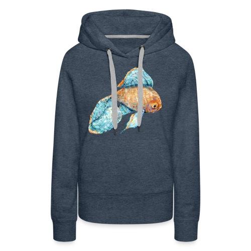 Blue Goldfish - Women's Premium Hoodie