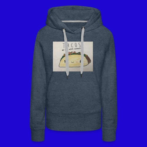 Tacos are my Spirit Animal - Women's Premium Hoodie