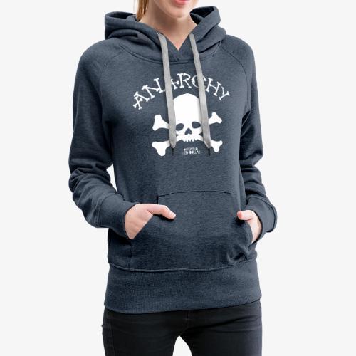 Anar Skull white - Women's Premium Hoodie