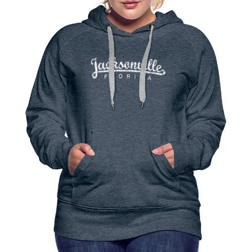 Jacksonville, Florida (Vintage White) - Women's Premium Hoodie