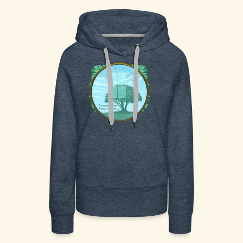 Everyone has the Power to Grow - Women's Premium Hoodie