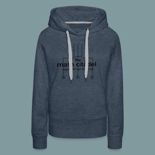 Abstract Math Citadel - Women's Premium Hoodie