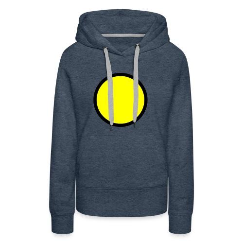 Circle yellow svg - Women's Premium Hoodie