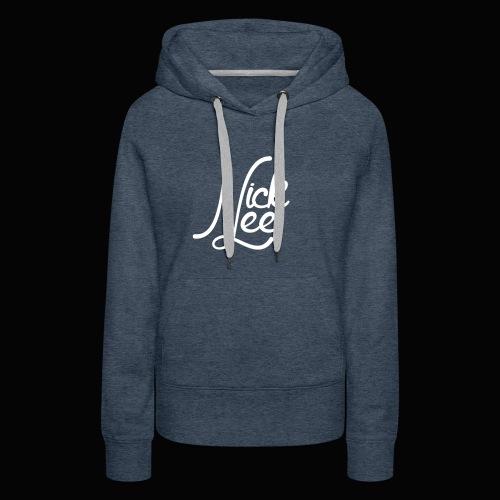 Nick Lee Logo - Women's Premium Hoodie