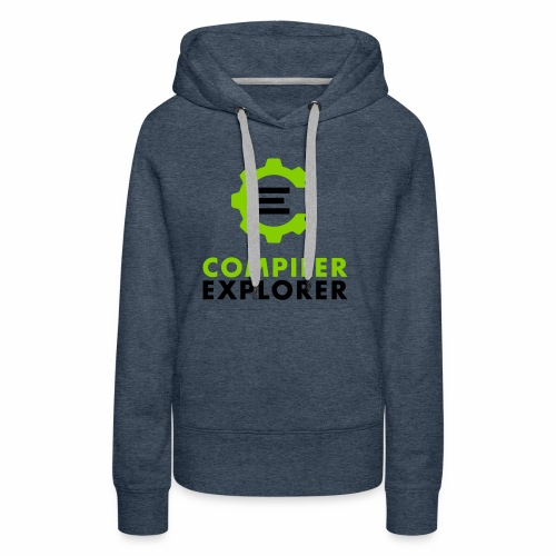 Logo and text - Women's Premium Hoodie