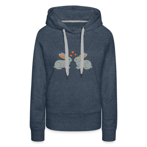 Rabbit Love - Women's Premium Hoodie