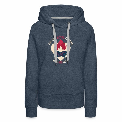Camping tshirt02 HQ 01 - Women's Premium Hoodie
