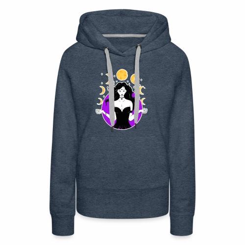 Lunar goddes - Women's Premium Hoodie