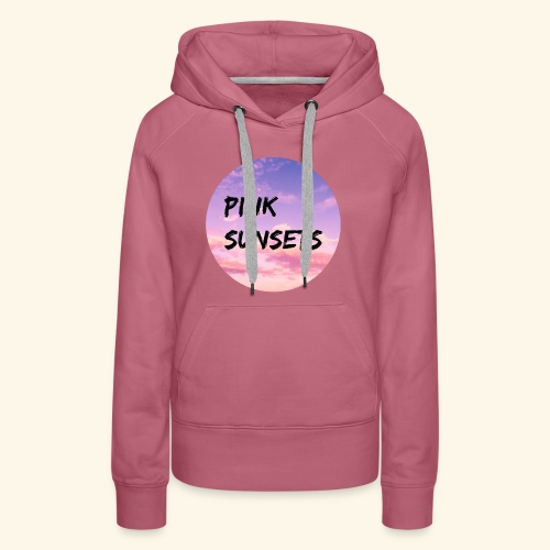 Pink Sunsets - Women's Premium Hoodie