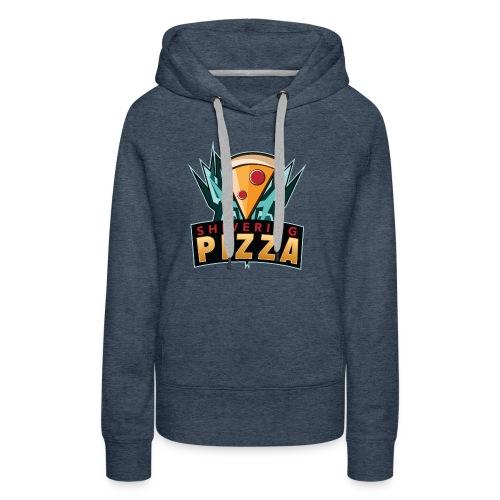 Shiveringpizza Logo - Women's Premium Hoodie