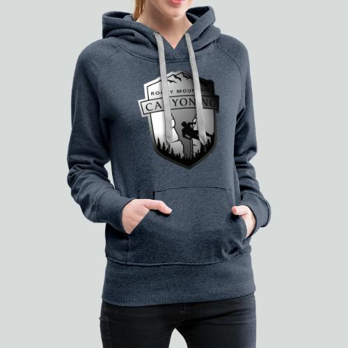 2TONE LOGO ONLY-on light front-1 sided - Women's Premium Hoodie